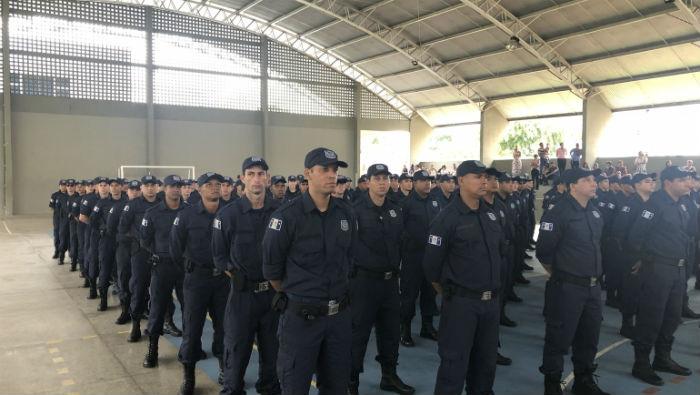 Cerimônia de posse aconteceu no Compaz Ariano Suassuna. Foto: PCR/Divulgação.