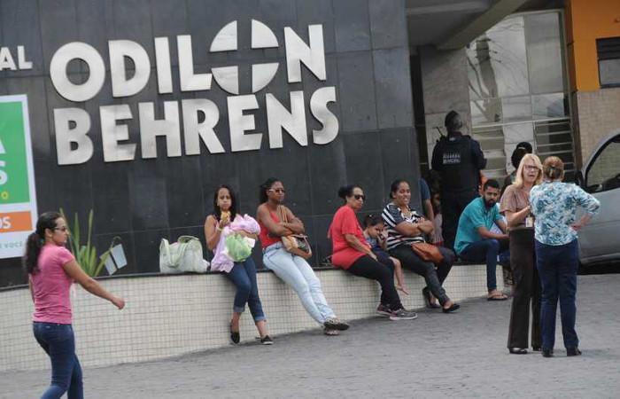 Filho do casal ficou internado alguns dias em estado grave no Hospital Odilon Behrens. Foto: Beto Novaes/EM/D.A Press