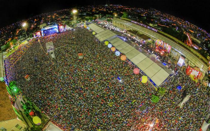 As inscrições para o São João 2019 podem se feitas até 1º de março. Foto: Rafael Lima/PMC/Divulgação.