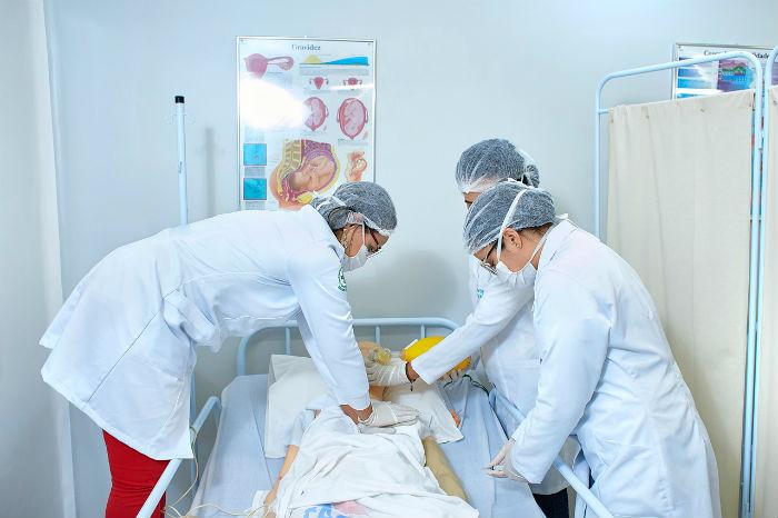 Curso de medicina da instituição é o único de Jaboatão dos Guararapes. Foto: Grupo Tiradentes/Divulgação.