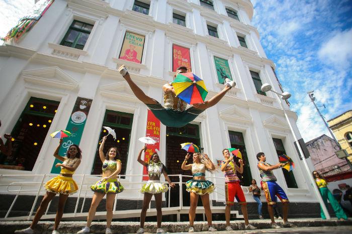 O Paço do Frevo celebra neste sábado aniversário de cinco anos. Foto: Bruno Campos/Divulgação.