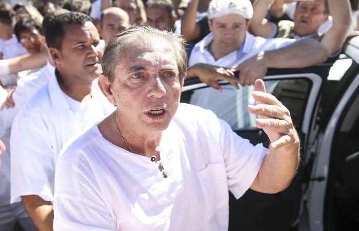 O médium João de Deus, que está preso desde dezembro do ano passado - Arquivo/Agência Brasil