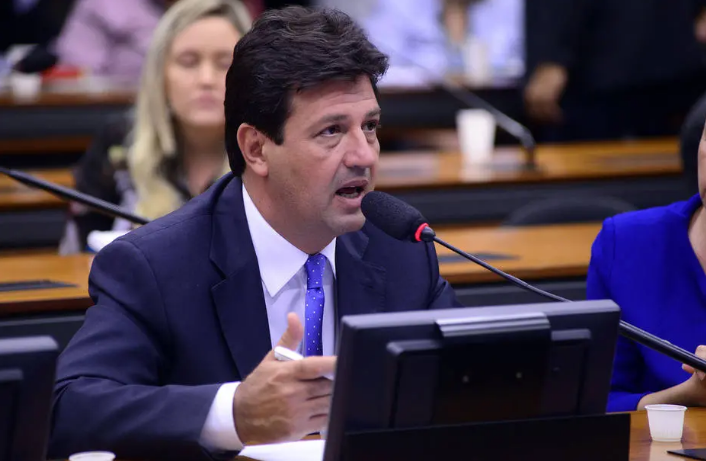 O ministro da Saúde, Luiz Henrique Mandetta, disse não conhecer o documento Foto: Gustavo Lima/Agência Câmara
