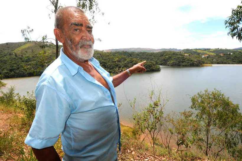 Jaime Gomes sobreviveu à Mina Capitão do Mato, em Macacos. Foto: Beto Novaes/EM/D.A Press