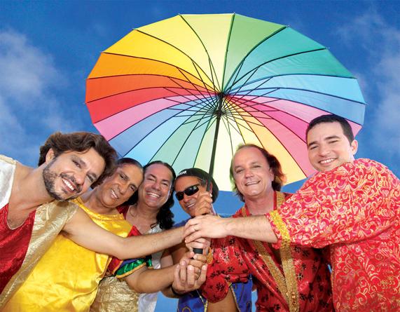 Som da Terra comanda prévia de Carnaval na Zona Sul. Foto: Divulgação