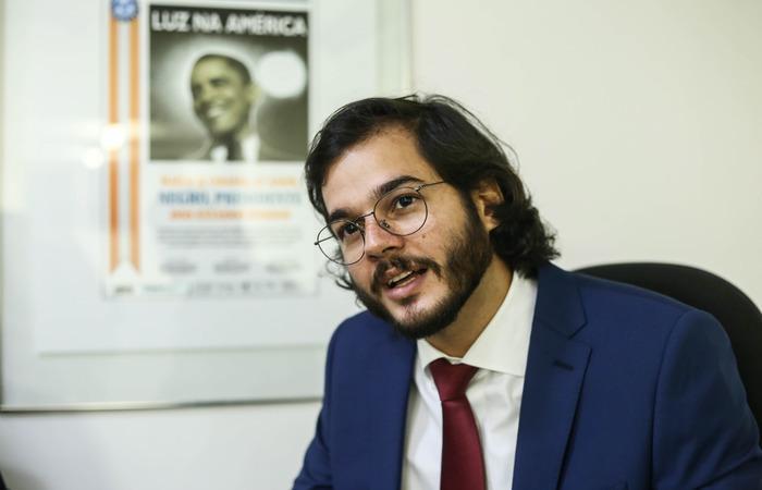 Túlio Gadêlha foi eleito deputado federal por Pernambuco com 75.642 votos nas eleições de outubro de 2018 (Foto: Camila Pifano/Esp.DP)