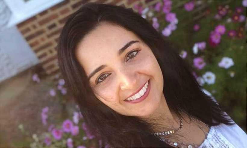 Aliny Mendes tinha 39 anos e estava com um dos filhos no colo quando foi atacada. Foto: Arquivo pessoal