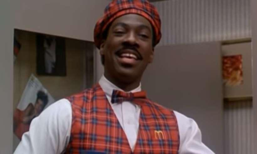 Expectativa é que Eddie Murphy esteja na sequência do clássico dos anos 1980. Foto: Reprodução/YouTube