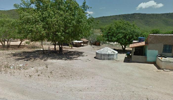 Crime aconteceu na zona rural de Tacaratu. Foto: Google Street View/Reprodução.