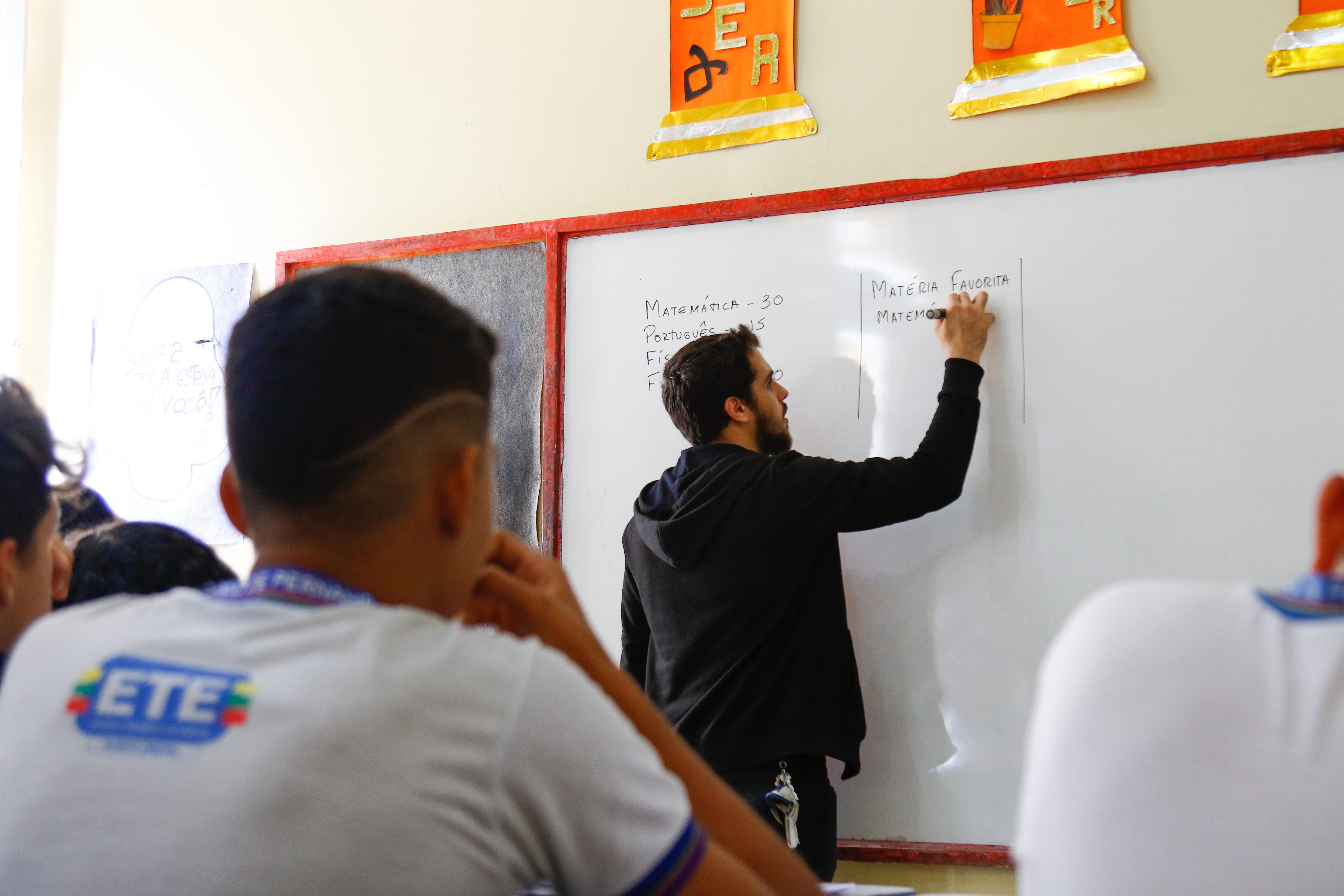 Principal pesquisa estatística sobre a educação básica, o Censo Escolar é coordenado pelo Inep. Foto: Marlon Diego/Esp.DP.