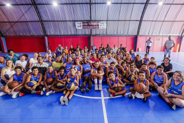 Associação Adrianinha Basketeball é uma das beneficiadas. Foto: Andréa Rêgo Barros / PCR
