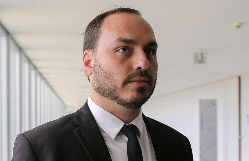 Carlos está no centro da crise recente criada em torno do ministro da Secretaria-Geral da Presidência Gustavo Bebianno. Foto: Sérgio Lima/AFP