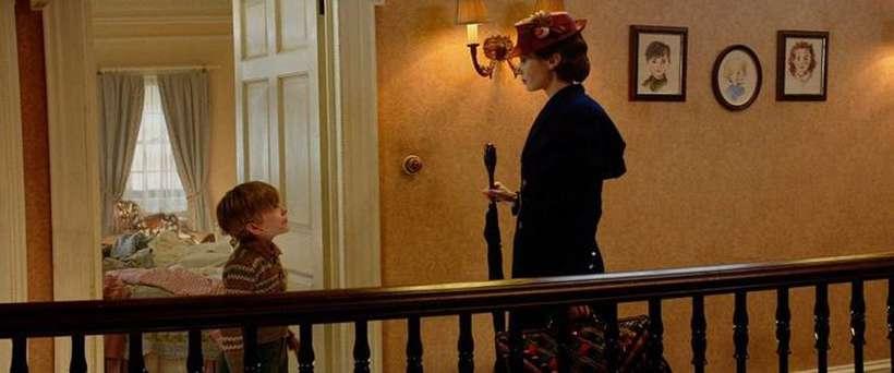 O retorno de Mary Poppins: a atriz do musical Emily Blunt foi esquecida, mas, o longa, não. Foto: Walt Disney Pictures/Divulgação