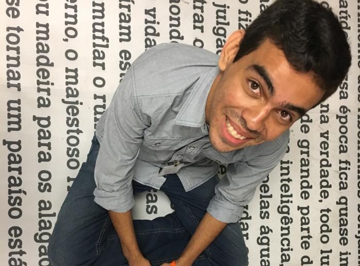 Francisco foi finalista em 2014 e agora voltou ao evento como um exemplo. Foto: Anamaria Nascimento/DP