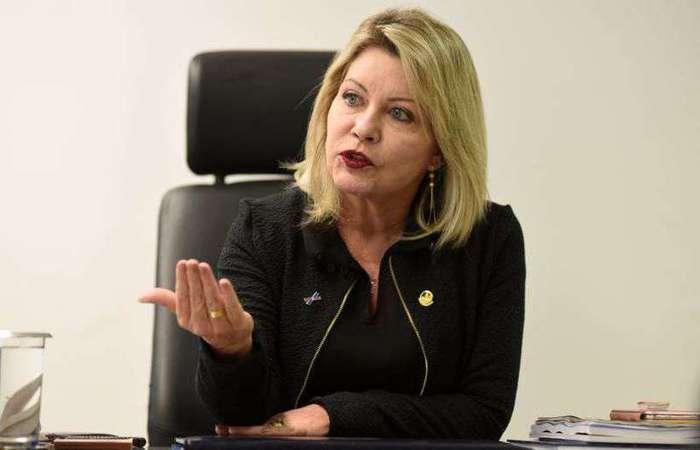 Senadora Juíza Selma Arruda (PSL-MT). Foto: Ed Alves/CB/D.A Press