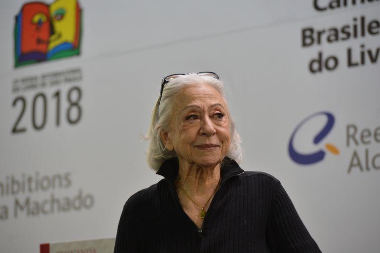 Fernanda Montenegro recebeu alta depois de dois dias internado em hospital. Foto: Arquivo/Rovena Rosa/Agência Brasil