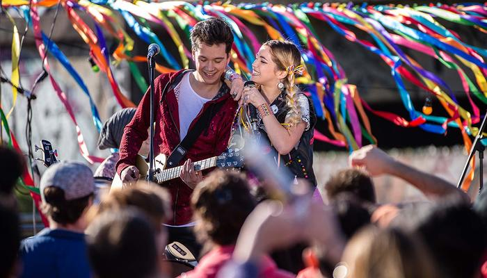 A nova atração da Netflix faz lembrar a mexicana Rebelde e High School Musical, fenômeno da Disney. Foto: Fabian Trapanese/Divulgação