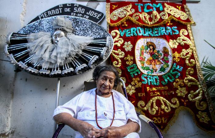 Vinda do Agreste, Sevy aprendeu os segredos do carnaval no bairro de São José. Foto: Bruna Costa / Esp. DP