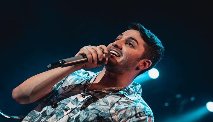 O cantor Jonas Esticado foi uma das atrações da festa. Foto: Agência Hangout