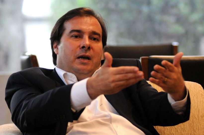 Maia, presidente da Câmara dos Deputados: governo deveria pensar na estratégia de campanha para pressionar a favor da reforma da Previdência. Foto: Antonio Cunha/CB/D.A Press