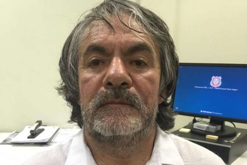 O mexicano Lucio Rueda Bustos foi preso em Curitiba, em 2006 e, no ano seguinte, condenado pelo juiz Sérgio Moro. Foto: PCDF/Divulgação