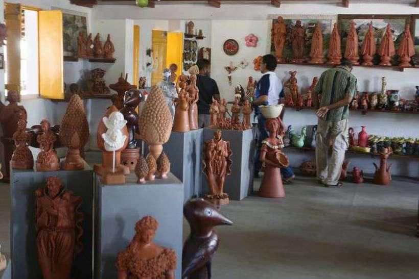 Centro de Artesanato em Tracunhaém, Mata Norte de Pernambuco. Foto: Guga Matos/SeturPE