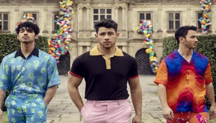 O grupo Jonas Brothers é formado pelos irmãos Joe, Nick e Kevin Jonas. Foto: Reprodução/Instagram