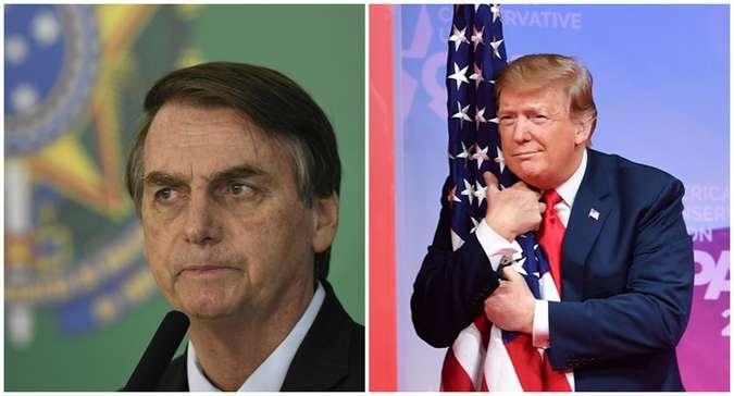 O encontro com Trump na Casa Branca será a primeira visita bilateral do presidente brasileiro desde a posse. A escolha dos EUA como primeiro destino é significativa. Foto: Arquivos / AFP