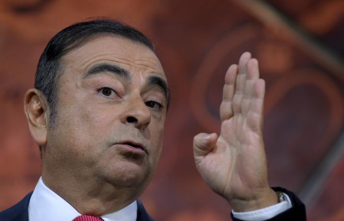 Carlos Ghosn nega as acusações e não pode sair do Japão. Foto: ERIC PIERMONT / AFP