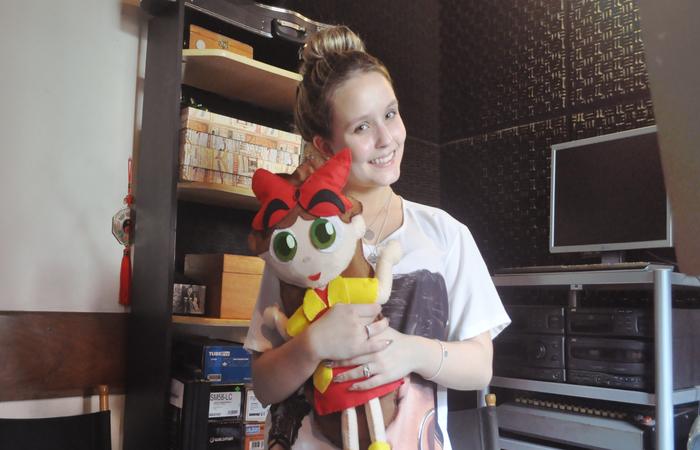 Larissa Manoela, atriz e cantora, dá voz à protagonista da nova animação do Nat Geo Kids, %u201CNina%u201D. Foto: Studio 05