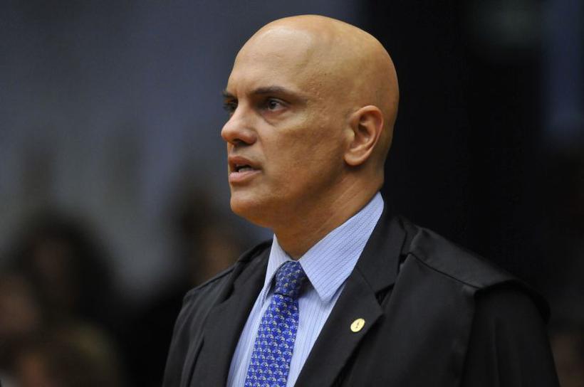 Ministro Alexandre de Moraes, que votou por equiparar homofobia a crime de racismo, é um dos alvos. Foto: Minervino Junior/CB/D.A Press