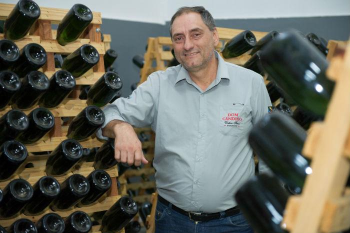 Marcos Valduga destaca a qualidade dos vinhos nacionais. Foto: Júlio Soares/cortesia Ibravin/Sebrae