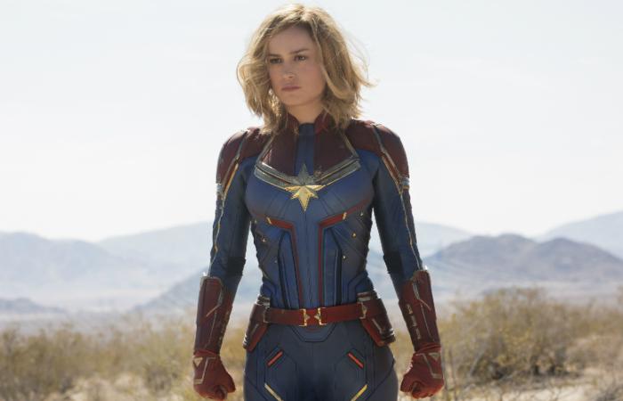 Capitã Marvel, de Anna Boden e Ryan Fleck, está atrás apenas de Vingadores: Guerra Infinita nas melhores estreias. Foto: Marvel/Divulgação