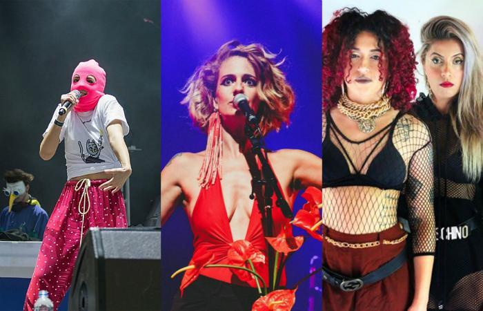 Foto: Pussy Riot, Alex Melo e Sillas Henrique/Divulgação