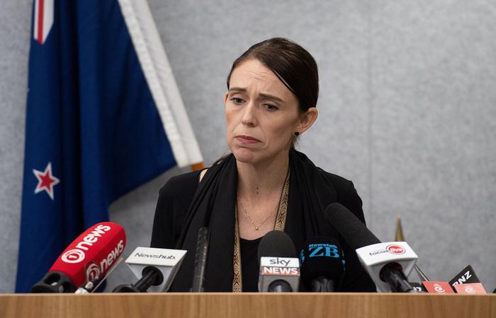 Primeira-ministra da Nova Zelândia, Jacinda Ardern. Foto: Marty MELVILLE / OFFICE OF PRIME MINITER NEW ZEALAND / AFP