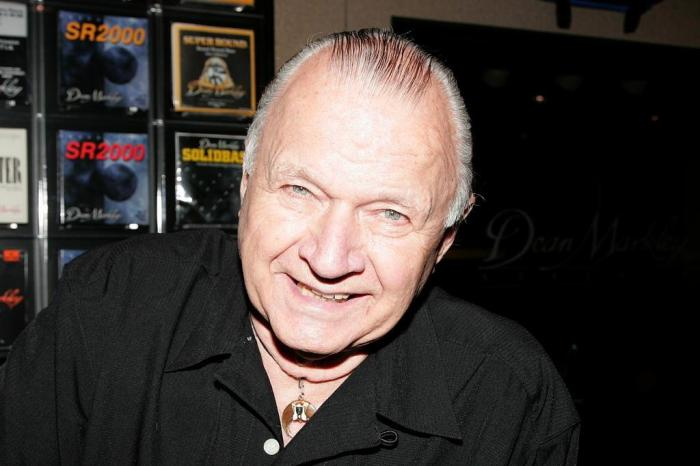 Dick Dale fotografado no NAMM Show, evento do mercado de equipamentos musicais, na Califórnia, em 2010. Foto: David Livingston / Getty Images for NAMM/AFP