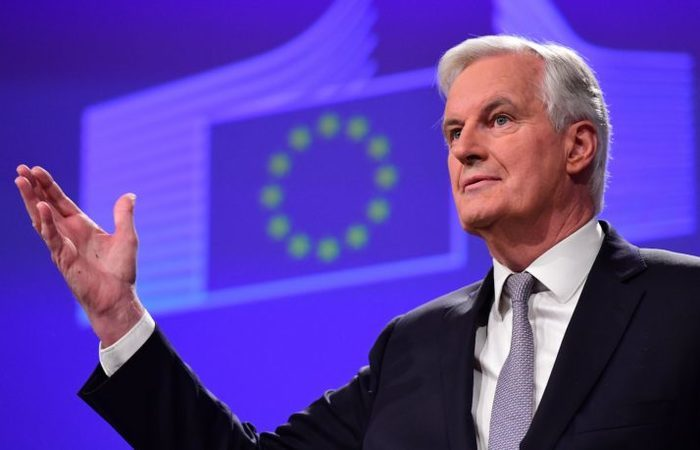 Principal negociador da UE para o Brexit, Michel Barnier. Foto: Emmanuel Dunand/AFP via Getty Images