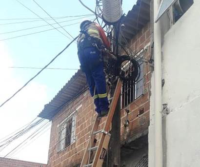 Companhia identificou cinco estabelecimentos com ligações clandestinas. Foto: Celpe / Divulgação