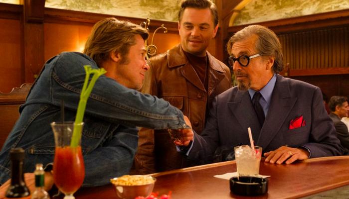Personagens de Leonardo DiCaprio e Brad Pitt buscam atingir sucesso em Hollywood em 1969. Foto: Reprodução/Youtube/Sony Pictures