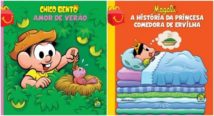 Lançamento faz parte de campanha de incentivo à leitura. Foto: Mc Donald's/Divulgação.