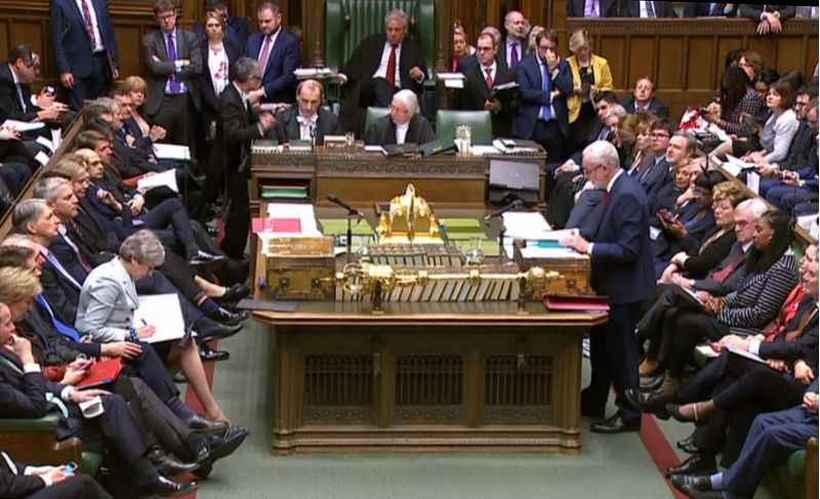 Parlamento britânico assumirá o controle do cronograma da Casa em torno das discussões sobre o processo do Brexit. Foto: Pru/AFP