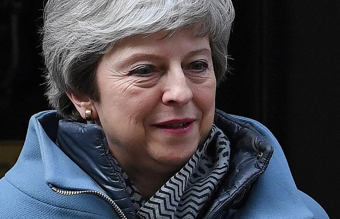 Primeira-ministra Theresa May aguarda votação do Brexit, a saída do Reino Unido da União Europeia . Foto: Paul ELLIS / AFP
