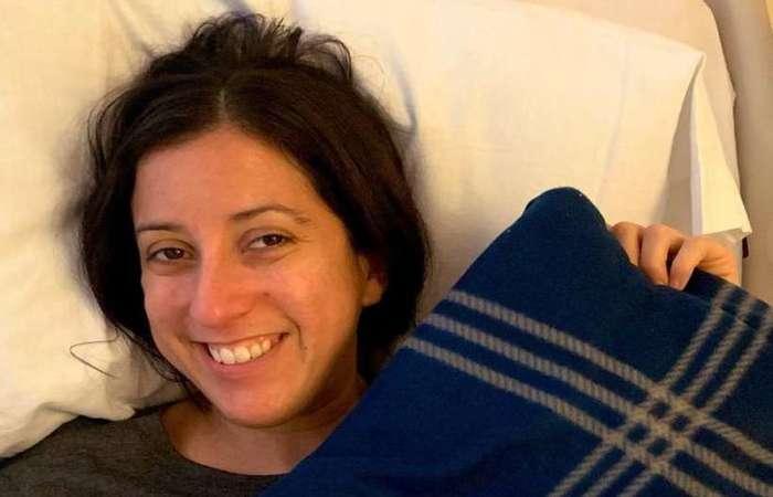 Nina Martinez, de 35 anos, doou um de seus rins a um receptor anônimo. Foto: Reprodução/Twitter)