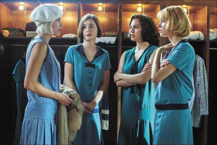 A produção espanhola 'As telefonistas' é ambientada nos anos 1920, mas aborda questões em discussão ainda hoje. Foto: Netflix/ divulgação