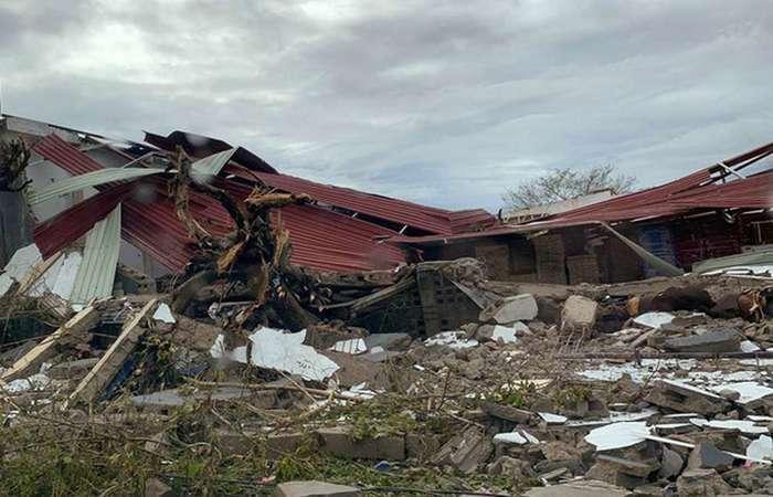 A tempestade deixou 468 mortos e mais de 1,5 mil feridos. Foto: AFP