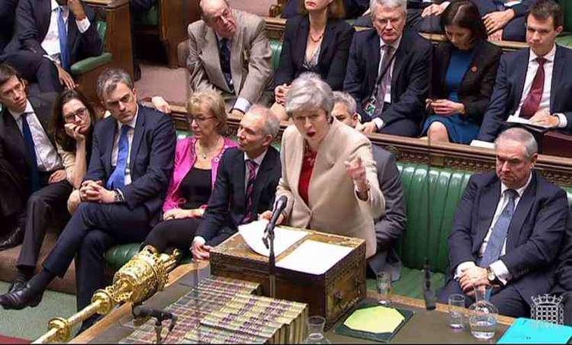 Theresa May sofreu mais uma derrota. Foto: AFP