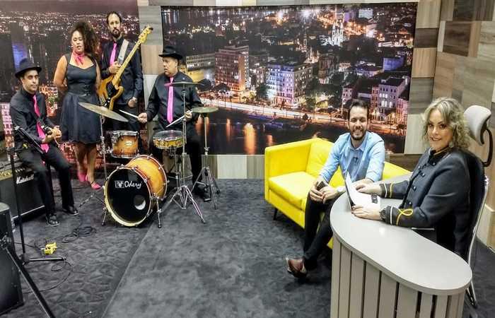 Talk show acontece aos sábados, às 20h45, na TV Nova Nordeste, afiliada da TV Cultura (Foto: Divulgação) (Talk show acontece aos sábados, às 20h45, na TV Nova Nordeste, afiliada da TV Cultura (Foto: Divulgação))