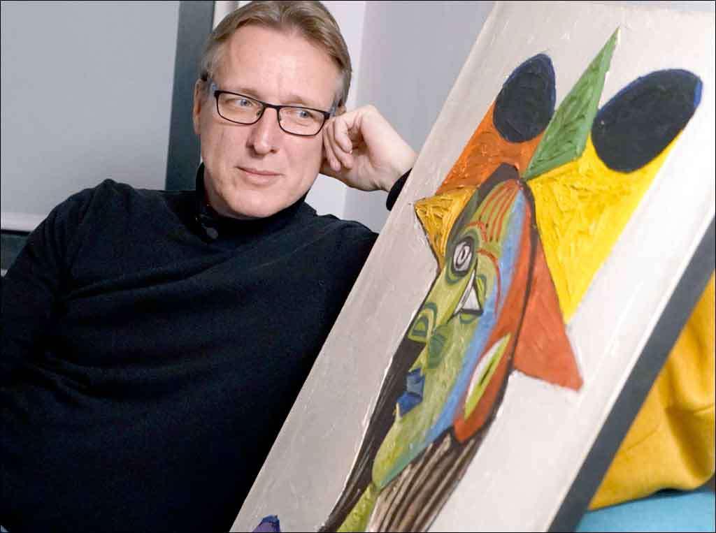 Arthur Brand diz que a valiosa obra de Picasso circulou entre negociantes de drogas e armas. Foto: Arthur Brand/AFP
