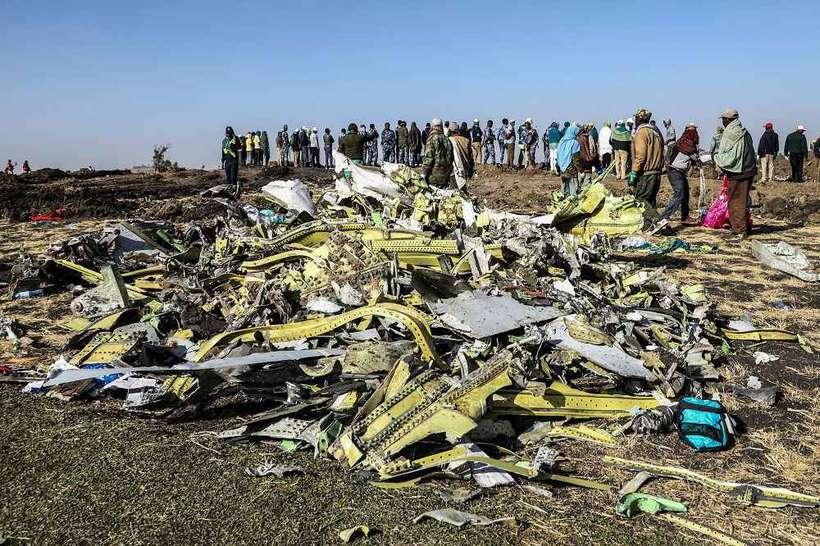 O relatório preliminar sobre o acidente será publicado ainda esta semana, informou o governo etíope. Foto: Michael Tewelde/AFP