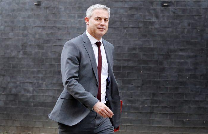 Secretário de Estado do Brexit do governo do Reino Unido, Stephen Barclay - Foto: Tolga Akmen/AFP